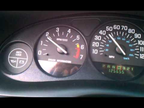 Buick Regal Gs Trans Problem