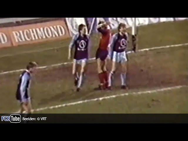 1986-1987 - Beker Van België - 04. 8ste Finale - Club Brugge - FC Liège 1-1