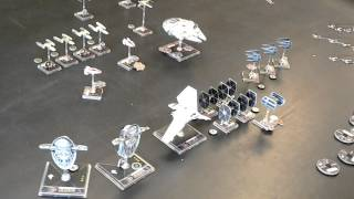 X Wing Miniatures 2v2 (300pts vs 300pts)