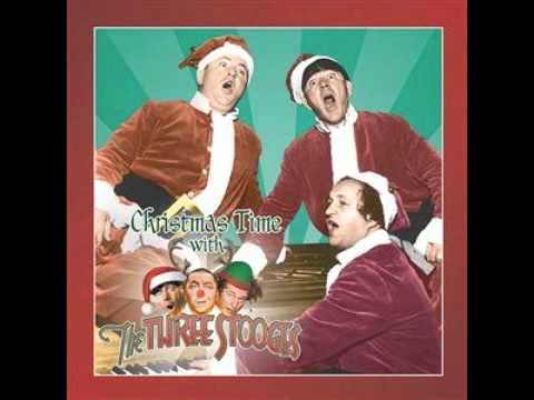 Rare Three Stooges Christmas Record Recording (Billy West) - YouTube
