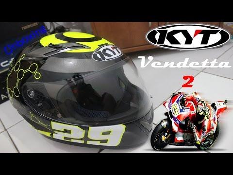 #07 Unboxing KYT Vendetta 2 SE Andrea Iannone