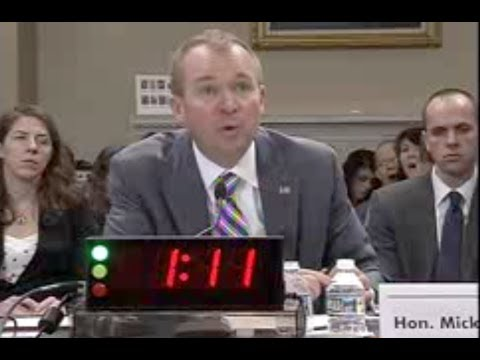 Mulvaney Grilled On Trump Budget - Full House Hearing