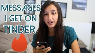 One of Brianne Worth's most viewed videos: MESSAGES GIRLS GET ON TINDER