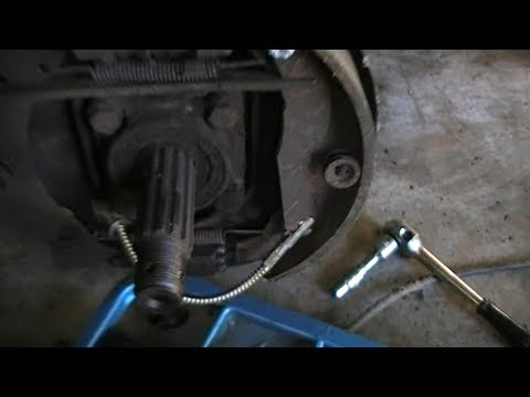 VW Beetle handbrake cable replacement - The Kreiger Project