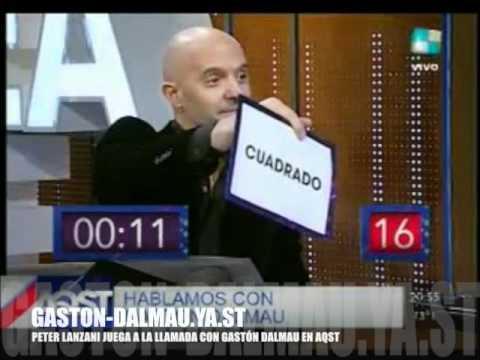 "GASTON DALMAU JUEGA A ""DECIME LA PALABRA"" EN AQST 20/6/12"
