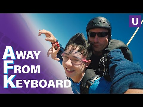 TSM Goes Skydiving With Red Bull Air Force | Away From Keyboard | Unstoppable