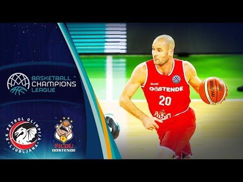 LIVE🔴 - Petrol Olimpija v Filou Oostende - Basketball Champions League 2018-19 (Geo-Blocks)