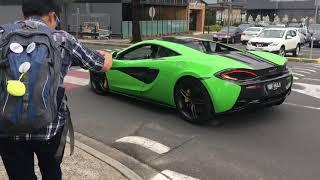 Cars And Coffee Australia.  スーパーカー/日本車加速。