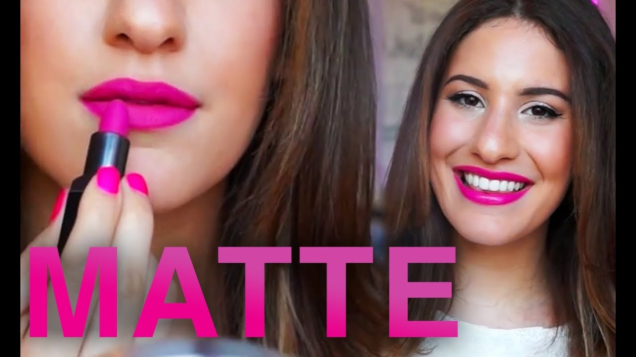 Matte Lipstick Tutorial with Jamie Paige Beauty #