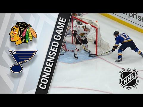 04/04/18 Condensed Game: Blackhawks @ Blues