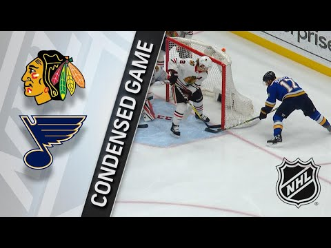 04/04/18 Condensed Game: Blackhawks @ Blues