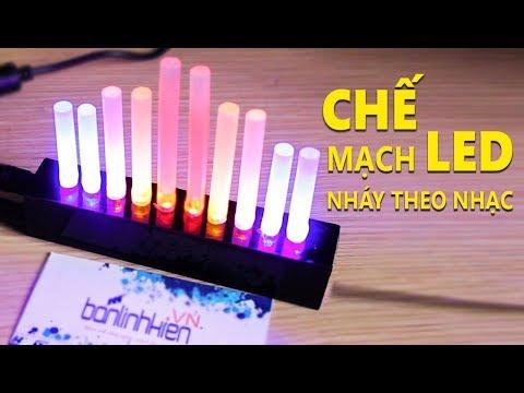 CHẾ MẠCH LED NHÁY THEO NHẠC | Đơn Giản Dễ Làm Nhờ AN6884| BLK 2 | Banlinhkien.DIY
