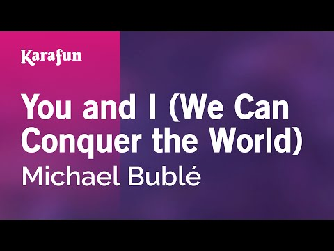 Karaoke You And I  Michael Bublé *