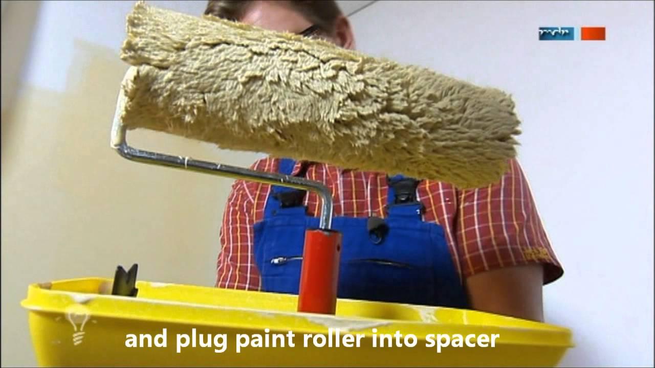 Rollko Splatter Free Paint Roller