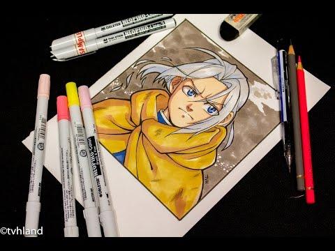 Comment dessiner Arslan des Chroniques d'Arslan? Dessin au Neopiko-color