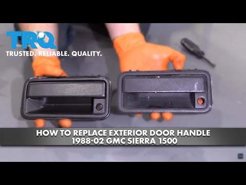 How to Replace Exterior Door Handle 1988-02 GMC Sierra 1500