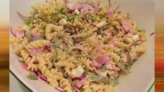 Ну ОЧЕНЬ вкусный  и сытный салат из макарон. Полноценный ужин.
