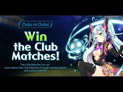 ⌈Soccer Spirits⌋ Win the Club Matches! Event + Power-up Suit