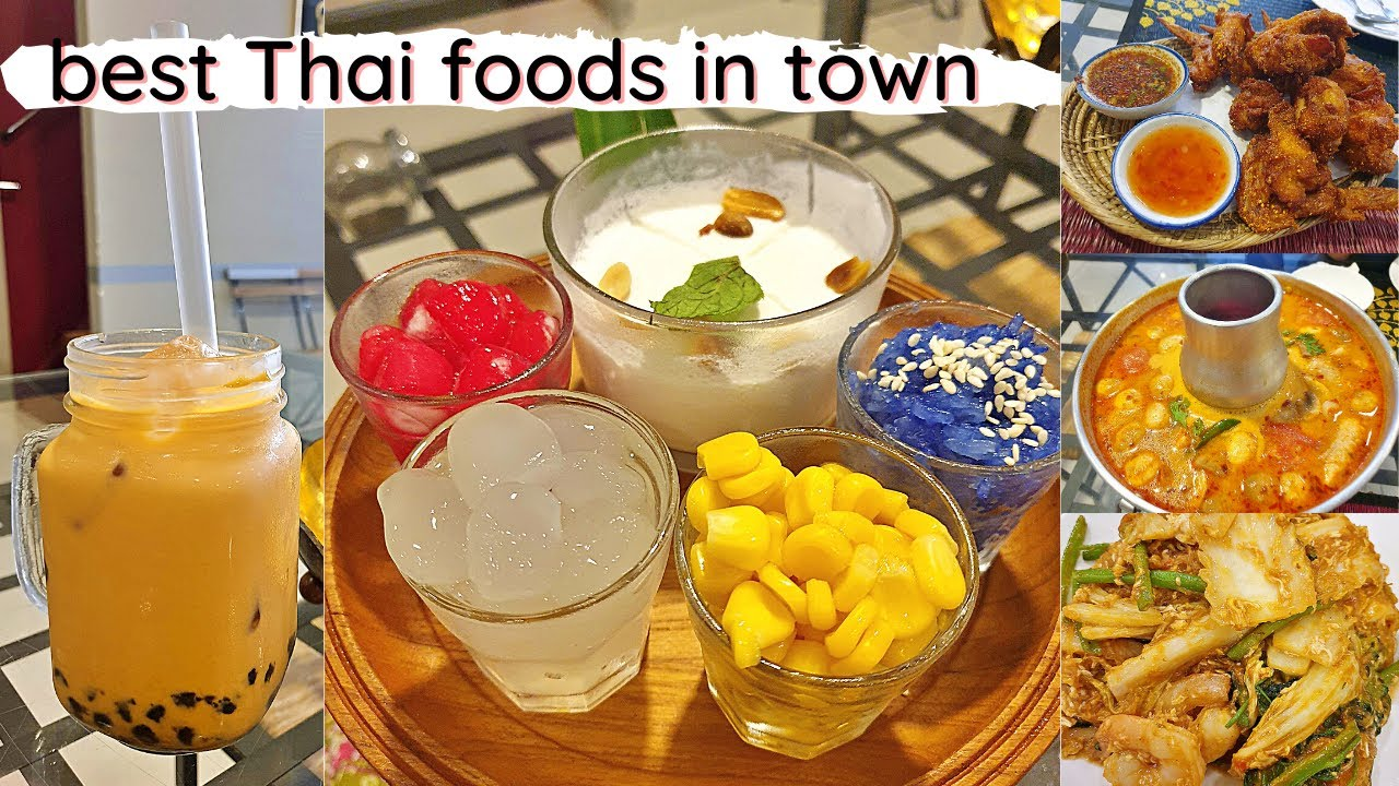 Khao San Thai Restaurant In Qatar A Food Diary By Iamsigh Food Review Youtube