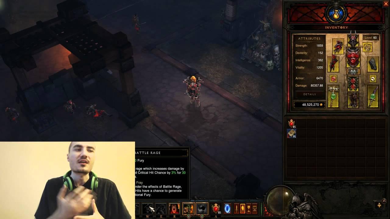 [Diablo 3] Gearing Tips For WW Barbs