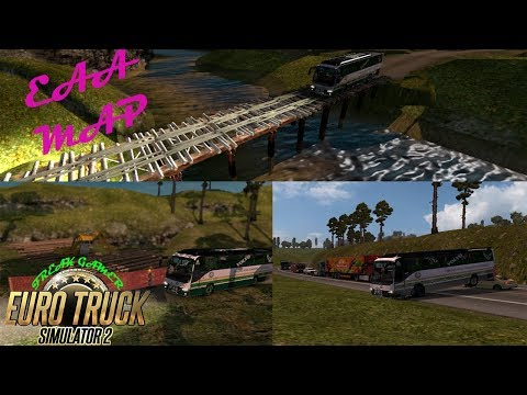 EAA Map INDIAN Bus Riskless Driving ETS2