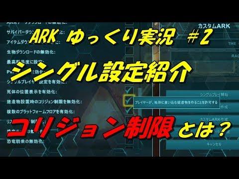 設定 Ark ソロ
