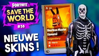 3 BIRTHDAY LLAMA'S OPENEN + EVA HEEFT ZO IETS STOMS GEDAAN!! - Fortnite Save The World #38