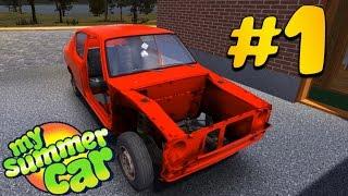 як зробити машину в грі my summer car