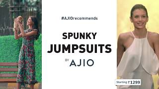 #AJIOrecommends Spunky Jumpsuits