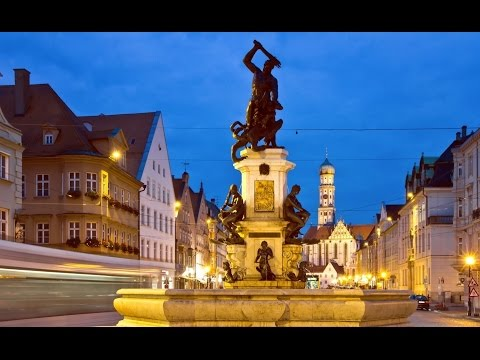 Top Tourist Attractions in Augsburg: Travel Guide Bavaria, Germany