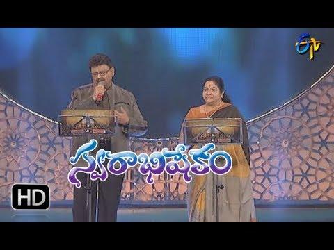 Ninu Choodaka Song | SP Balu,Chitra Performance | Swarabhishekam | 11th February 2018| ETV  Telugu