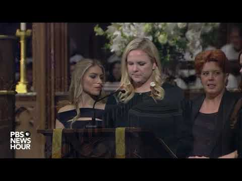 WATCH: Granddaughters deliver readings at George H.W. Bushs funeral