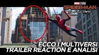 Spider-Man Far From Home: I MULTIVERSI nel nuovo trailer!! Reaction e ANALISI