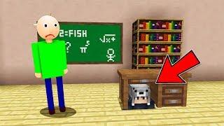 KORKUNÇ ÖĞRETMEN BALDİ BENİ ARIYOR! 😱 - Minecraft