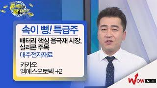 [이경락 돈버는락(樂)TV24] 대주전자재료-배터리 핵심소재 음극재 시장서