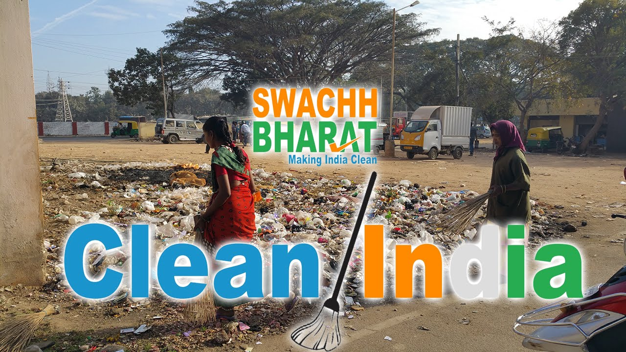 Swachh Bharat clean city at Jeevan bhimanagar in Bengaluru