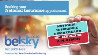 Getting your National Insurance number