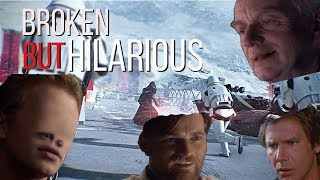 Star Wars Battlefront 2 May Be Broken But its Hilarious