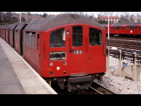 London Transport 1938 Tube Stock In Action