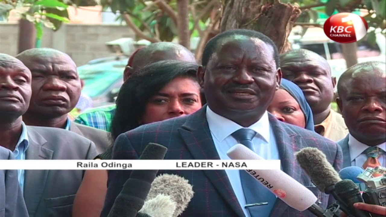 Government warns NASA against planned swearing in of Raila Odinga