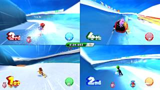 Mario and Sonic at the Sochi 2014 Olympic Winter Games - Part 17: Winter Sports Champion Race