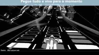Gemini - Blue | Tradução ★ Audiosurf (Black and white) ★