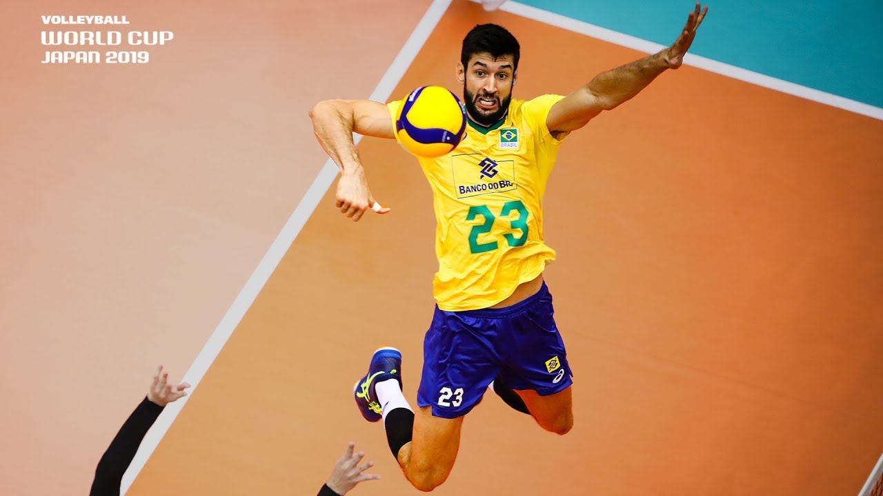 Absolutely Insane! | Most Powerful Spikes of the Men's Volleyball World Cup 2019