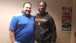 AC Blackjacks WR Kendrick Ings talks his journey to play football in the Arena Football League