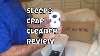 Sleep8 CPAP Cleaner Review Unboxing Step by Step