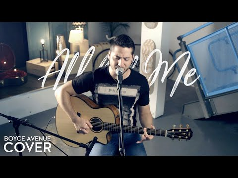 All of Me  John Legend Boyce Avenue acoustic  on Apple &