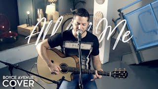Repeat youtube video All of Me - John Legend (Boyce Avenue acoustic cover) on Apple & Spotify