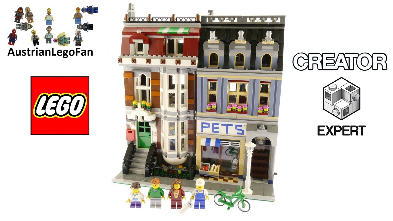 lego creator 10218 pet shop lego speed build review. Black Bedroom Furniture Sets. Home Design Ideas