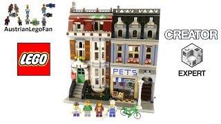 Lego Creator 10218 Pet Shop - Lego Speed Build Review