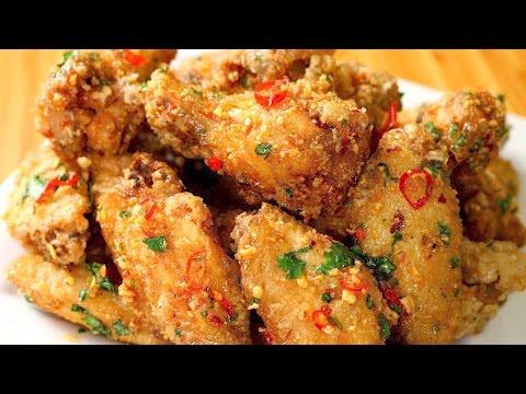 Fish Sauce Chicken Wings - Vietnamese Chicken Wings Recipe - Cánh Gà Chiên Nước Mắm